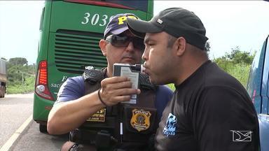 Operação para combater crimes de trânsito e tráfico de drogas é realizada em Balsas - Operação que também vai combater transporte ilegal de agrotóxicos tem apoio da Polícia Rodoviária, Polícia Militar e Aged.