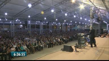 Ontem foi a abertura de mais uma edição do Consciência Cristã - Encontro segue até a próxima terça-feira, em Campina Grande.
