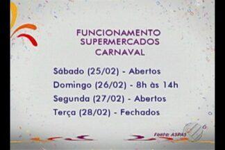Veja o que funciona em Belém para esta semana de carnaval - Shoppings e supermercados têm funcionamento especial na terça-feira (28)