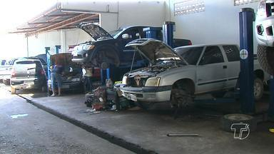 Chuvas na região aumentam problemas de infraestrutura nas ruas de Santarém - Situação fica mais grave nas ruas que tem maior fluxo de veículos.