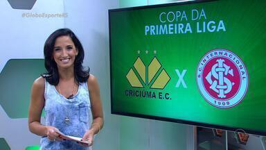 Globo Esporte RS - Bloco 1 - 24/02 - Assista ao vídeo.