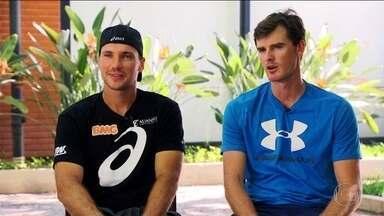 Conheça a dupla de tênis do rio Open Bruno Soares e Jamie Murray - Conheça a dupla de tênis do rio Open Bruno Soares e Jamie Murray