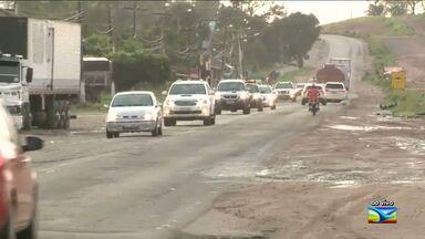 Veja a movimentação de motoristas nas estradas do MA - Após o fim do feriado do carnaval aumenta a movimentação de motoristas na BR-135.