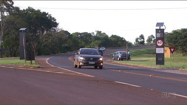 Radares de velocidade começam a ser instalados na BR-369 - Os radares ficam entre Cascavel e Campo Mourão.