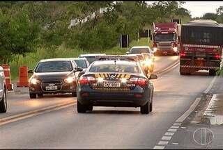 Acidentes com mortes são registrados nas rodovias do Norte de Minas - Balanço oficial ainda não foi divulgado.