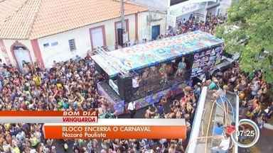 Bloco dos Moiados arrastou multidão na terça-feira em Nazaré Paulista - Tradição na cidade, bloco se apresenta no domingo e na terça de carnaval