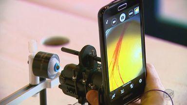 Pesquisadores desenvolvem sistema que faz exames de vista por smartphone - Pesquisadores desenvolvem sistema que faz exames de vista por smartphone