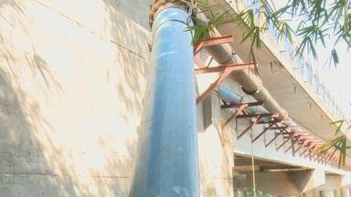 Atraso de obra de nova adutora prejudica abastecimento de água em Ji-Paraná - Obra faz parte do Programa de Aceleração do crescimento.