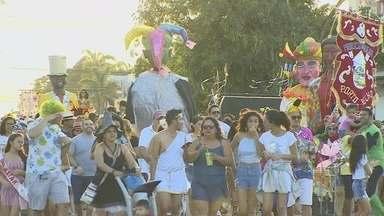 Milhares de foliões saíram às ruas de Porto Velho durante o Carnaval - Desfile de blocos foram os maiores atrativos.