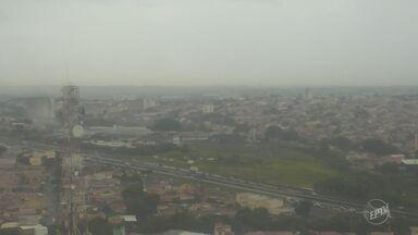Tempo instável e nublado deve se estender pelo final de semana na região de Campinas - A máxima para a cidade nessa sexta-feira (3) é de 28ºC.