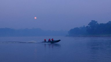 Pesca no rio Mamori - Na Amazônia, o desafio é fisgar peixes de couro.