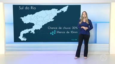 Confira a previsão para esta sexta-feira no Sul do Rio de Janeiro - Veja com mais detalhes como fica as temperaturas em algumas cidades da região