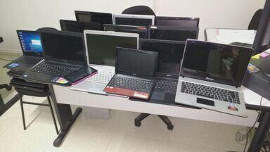 Comerciante é preso por receptação de eletroeletrônicos furtados em Leme - Ele vendia 30 notebooks, 3 televisores e sistema de monitoramento em loja.