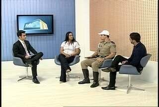 Número de acidentes é tema de debate no MG Inter TV - PRF registrou 15 acidentes no carnaval.