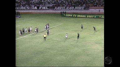 Baú do Esporte: 10 anos atrás, Pirambu e Corinthians se enfrentavam pela Copa do Brasil - Baú do Esporte: 10 anos atrás, Pirambu e Corinthians se enfrentavam pela Copa do Brasil
