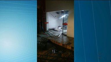 Bandidos atacam agência dos Correios e agência bancária em Jericó, PB - Crime aconteceu na madrugada deste sábado.