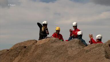 Reveja desafio do Plugue no Pico das Agulhas Negras em Itatiaia – parte 2 - Diana Sabadini recebeu desafio da ONG Anjos da Montanha e chegou a parte mais alta do estado do RJ.