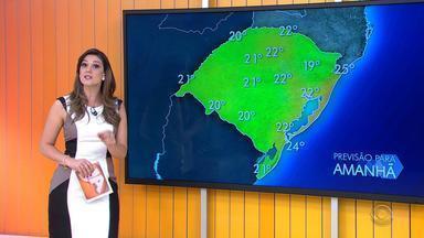Previsão do tempo: tempo melhora no domingo, mas ainda pode ter chuva no RS - Assista ao vídeo.