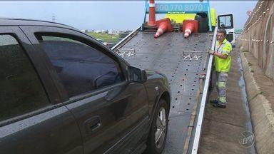Atendimento das concessionárias de rodovias a motoristas aumentam na região de Campinas - Falta de manutenção e revisões necessárias estão entre maiores problemas.