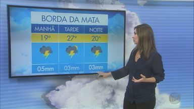Confira a previsão do tempo para este domingo (5) no Sul de Minas - Confira a previsão do tempo para este domingo (5) no Sul de Minas