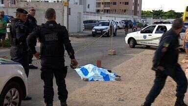 Homem é assassinado no Bairro Luzia em Aracaju - Homem é assassinado no Bairro Luzia em Aracaju.
