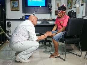 Índio que perdeu o pé ganha prótese mecânica em Sorocaba - Indígena que reaprendeu a andar graças a tecnologia é personagem da reportagem especial de Daniel Schafer e Fernando Bellon.