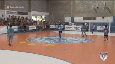 Santos promove Torneio Corpo em Ação de Futsal - Competição teve início no sábado (4).