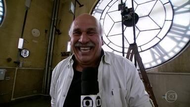 Márcio Canuto mostra o que acontece ao meio-dia em várias regiões de SP - Na Grande São Paulo, onde vivem mais de 20 milhões de pessoas, acontece muita coisa. Por isso, a partir desta segunda-feira (6), o SPTV vai percorrer várias regiões para mostrar, ao vivo, o que está rolando ao meio-dia, na hora em que o SPTV está no ar. Quem vai mostrar tudo com muito bom humor é o repórter Márcio Canuto.