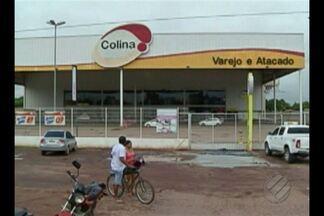 Polícia investiga assalto a um supermercado na rodovia BR-222, em Marabá - Bandidos renderam os vigilantes e arrombaram o cofre do estabelecimento, além de dois caixas eletrônicos