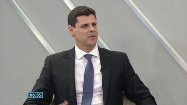 Bruno Funchal fala sobre os desafios da secretaria estadual da Fazenda - Ele assumiu o cargo recentemente.