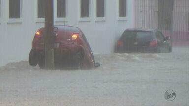 Piracicaba teve chuva de 8 dias em 4 horas - Prefeitura faz balanço de danos.