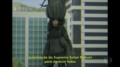 Andréa Beltrão estrela seriado japonês - É pura ação!