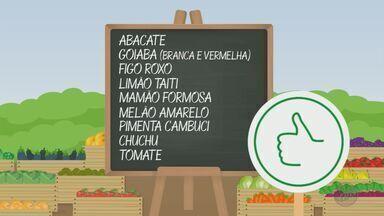 'Barato da Feira' apresenta como economizar na hora de comprar hortaliças e verduras - Confira as frutas e os legumes que estão com os preços em conta.