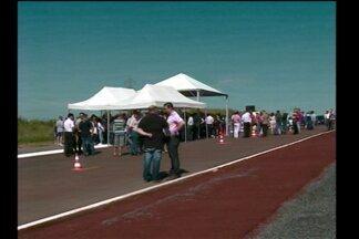 Inaugurado o prolongamento da Avenida América em Santa Rosa, RS - A via será mais uma alternativa de acesso do Centro da Cidade ao Bairro Cruzeiro.