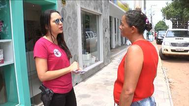 """Ações de combate à violência contra a mulher são realizadas no MA - Em Balsas a operação de combate foi denominada de """"E aí José?""""."""