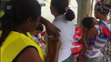 Alagoinhas tem postos de saúdes lotados após registro de febre amarela em macacos - A Secretaria da Saúde liberou 100 mil doses extras da vacina e, no fim de semana, vai ter mutirão de vacinação.