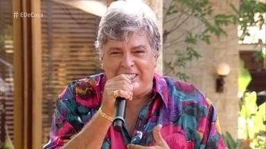 """Sidney Magal abre o É de Casa - Ele canta """"Me chama que eu vou"""""""