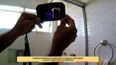 Saiba como identificar vazamentos na sua casa - Especialista apresenta técnicas modernas que ajudam a caçar o vazamento sem muita quebradeira