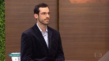 Pediatra explica sobre sedentarismo infantil - Entrevista no estúdio com o médico Rafael Montovani.