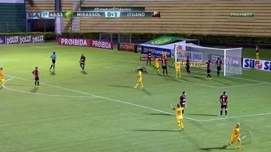 Mirassol e Ituano empatam nesta segunda (13) pelo Paulistão - Mirassol e Ituano ficaram no empate em 1x1 nesta segunda-feira (13), pelo Paulistão. Confira os gols da rodada.