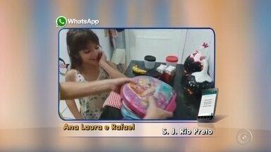 TV TEM mostra fotos e vídeos da preparação das lancheiras das crianças - TV TEM mostra fotos e vídeos da preparação das lancheiras das crianças.