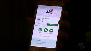 Aplicativo é criado para ajudar Centrais de Atendimento JÁ! - Um dos serviços do app permite acompanhar o tempo das senhas.