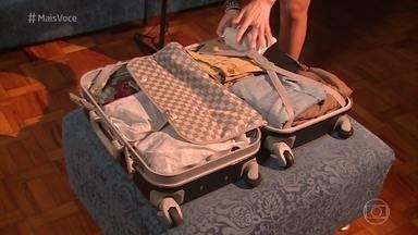 Aprenda a fazer uma mala de mão eficiente - Educadora Fashion Silvia Henz ensina a escolher peças essenciais para a viagem em cinco passos