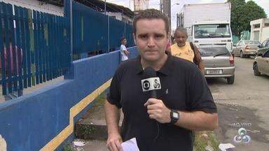Escola é invadida e furtada pela 2ª vez em uma semana, em Manaus - Furto em comércio e assassinato também ocorreram nas proximidades.