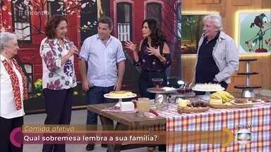 Rusty Marcellini mostra as sobremesas queridinhas dos brasileiros - Comida afetiva: qual sobremesa lembra a sua família?