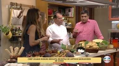 Gilmar Borges resgata receitas de antigos moradores de Pirenópolis - Chef decidiu trabalhar com a chamada cozinha de raiz, típica do interior de Goiás