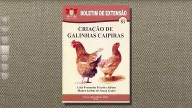 Livro da Universidade Federal de Viçosa tira dúvidas da produção de ovos caipiras - O livro custa R$ 15,00, já com a despesa de correio.
