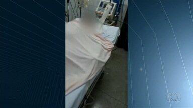 Famílias lutam por vagas em UTI para pacientes internados, em GO - Quase 80 pessoas aguardam por vagas em unidades de saúde de Goiás.