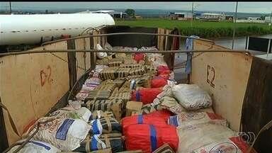 PRF apreende mais de 7,5 toneladas de maconha em carreta na BR-060 - Motorista disse que recebeu R$ 20 mil para transportar carga de MS a GO.