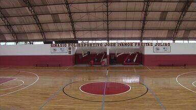 Clube Internacional de Regatas conta com um ginásio renovado - Melhorias aconteceram graças a um convênio com a Confederação Brasileira de Clubes.